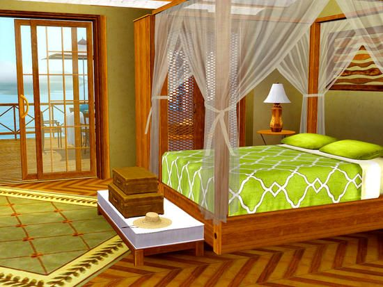 Shino&KCR's Caribbean Bedroom