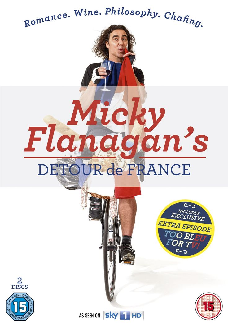 Micky Flanagan's Detour de France [DVD] [2014]: Amazon.co.uk: Micky Flanagan: DVD & Blu-ray
