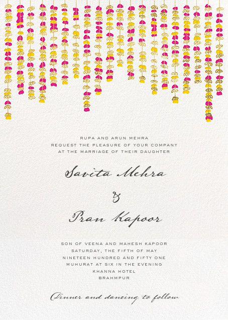 Under the Toran (Invitation) - Paperless Post