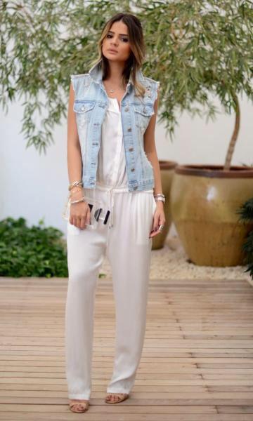 Colete jeans - Tassia Naves
