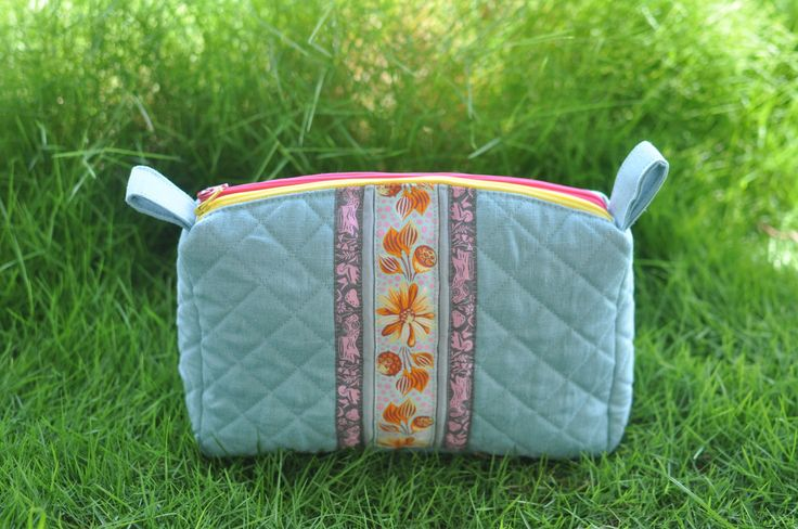 Sew Sweetness Filigree Double-Zip Pouch, sewn by Alli of More Please Thank You