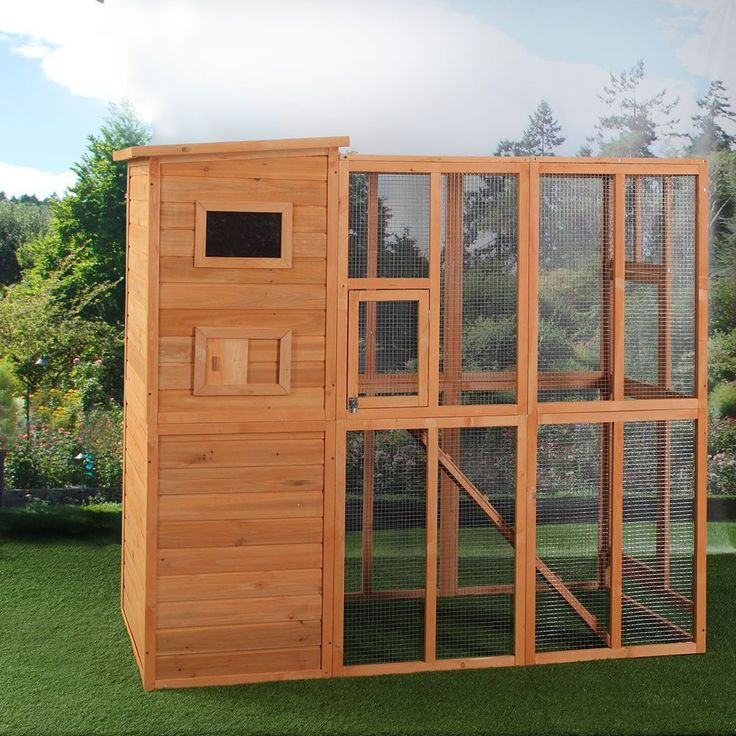Cat Houses For Outdoor Cats Enclosure Cage Run Shelter Wooden Pet Housing NEW   Pet Supplies, Cat Supplies, Furniture & Scratchers   eBay! #woodencathouse