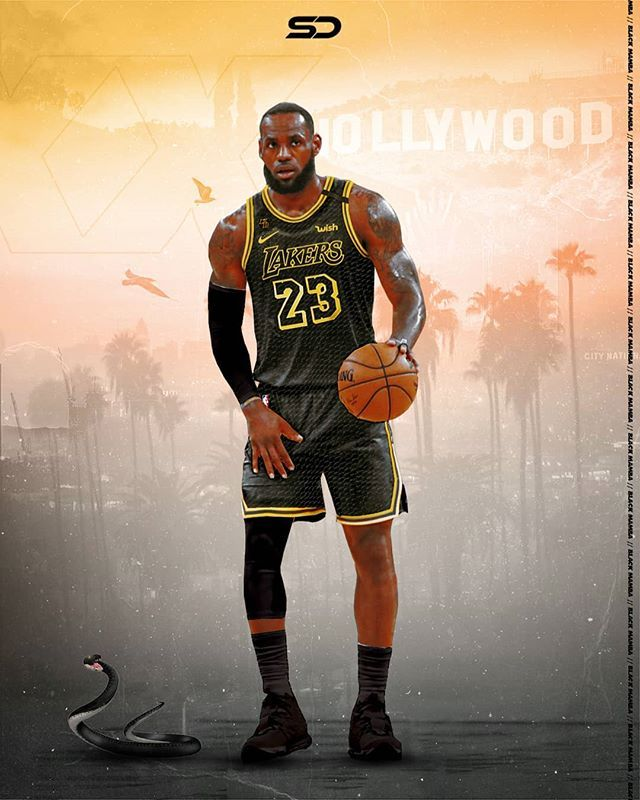 Splash Design On Instagram Should The Lakers Bring Back These Black Mamba Jerseys In 2020 King Lebron James Lebron James Lakers Lebron James