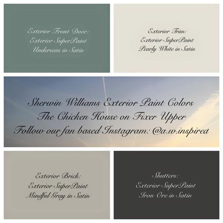 En Iyi 17 G R Nt Fixerupper Paint Colors Pinterest 39 Te Boya Renkleri Manolya Evleri Ve