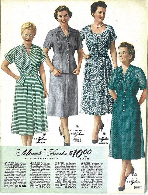 a7b9a085cb720 Lane Bryant 1954 Catalog pg 047 in 2019 | 1950's Catalogs, etc. | Fashion,  Grandma dress, Vintage outfits
