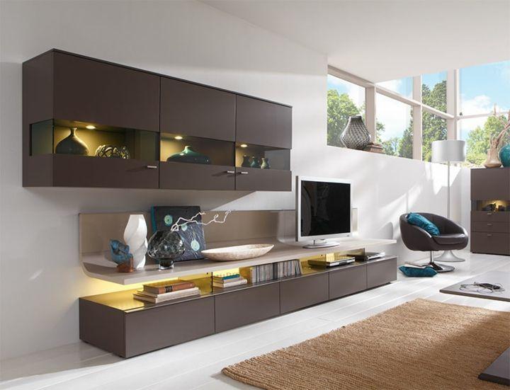 Wohnwand Fur Moderne Wohnzimmer 24 Modulare Schrankwande