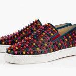 Christian Louboutin scarpe 2014: Multicolor pack #louboutin #slipon #ilovesneakers #sneakers