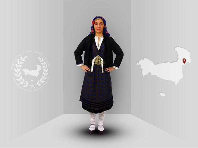 Thrace, Lavara (Evros), traditional costume  -Thracian culture club Stuttgart-  www.thraki.de