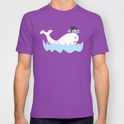 Surf T-shirt by Hagu - $22.00