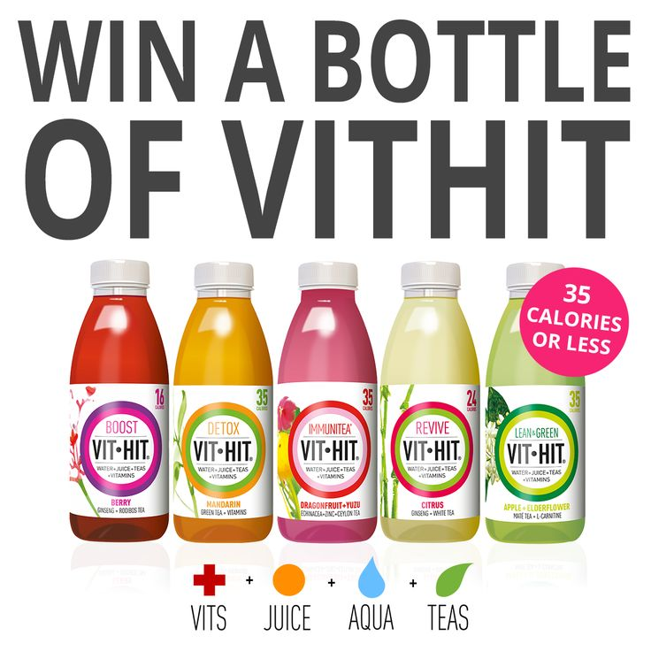 Refresh, Revitalise and Reboot with a bottle of VitHit.  That's why we're giving 500 of you lucky people the chance to win a bottle of awesome!