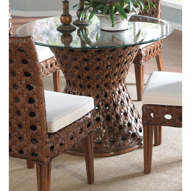 the highest quality and marvelous glass dining table base ideas in simple home design brown wicker table with curving base also glass top combined with