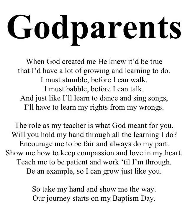 So cute to give when asking someone to be a Godparent.