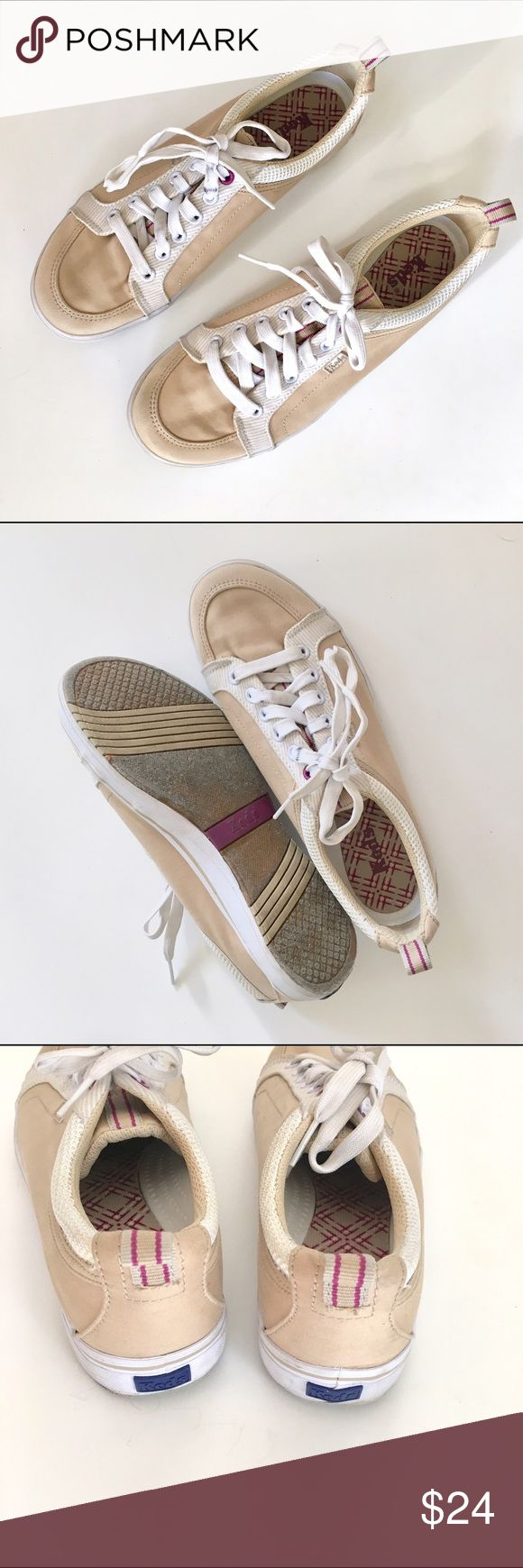 Keds lace up tennis shoes Very good condition, almost no signs of wear. Very comfortable sneakers! Add this to a bundle to save 15%. Keds Shoes Sneakers