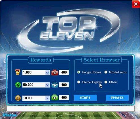Top Eleven Hack für iOS, Android and Windows