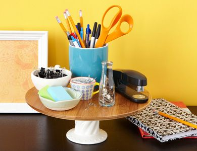 Repurposed Organizers: Cake Stands   Home Made Simple