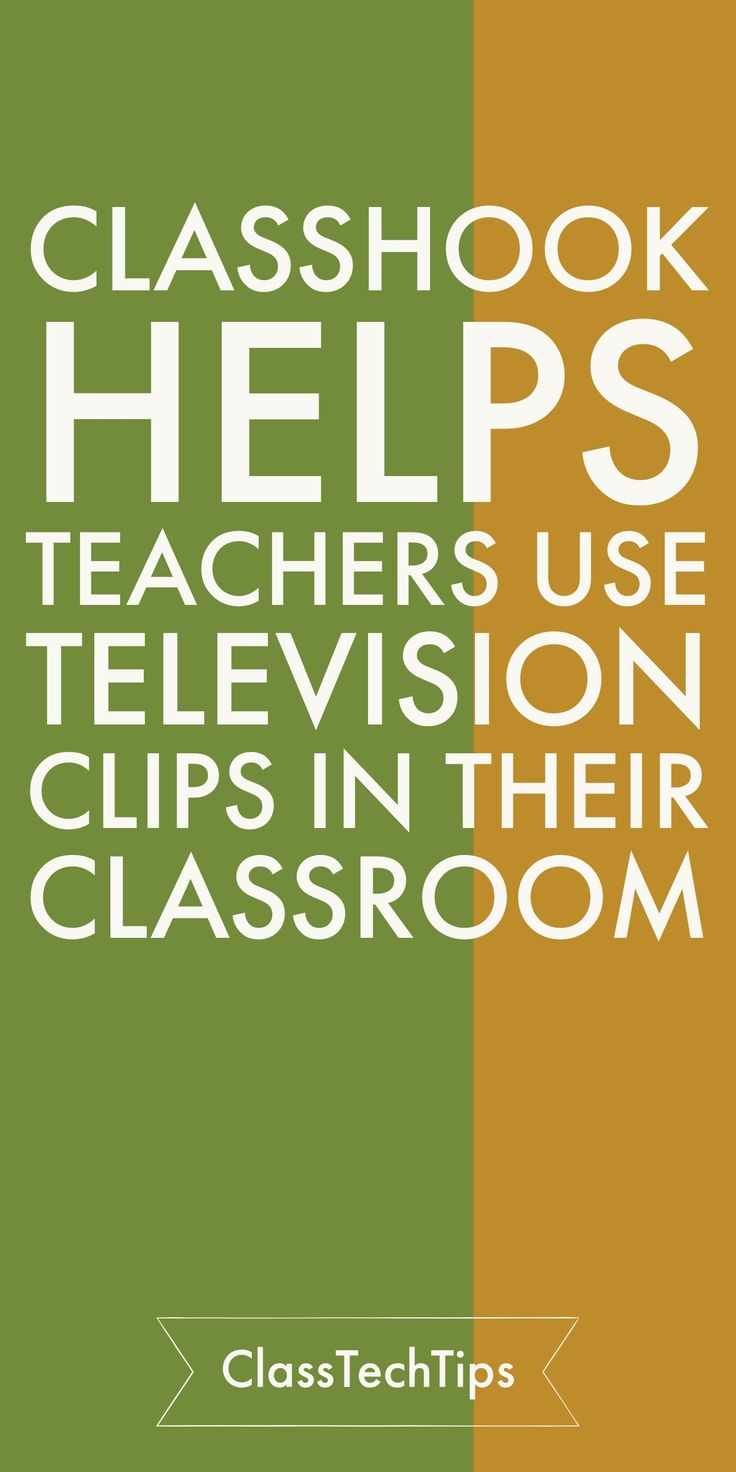 Use this awesome tool to find classroom videos and use television in your lesson! Teachers can use ClassHook to improve student engagement and content retention in the classroom by making connections to popular television shows and movies.