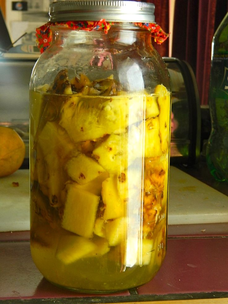 Make your own Pineapple Vinegar