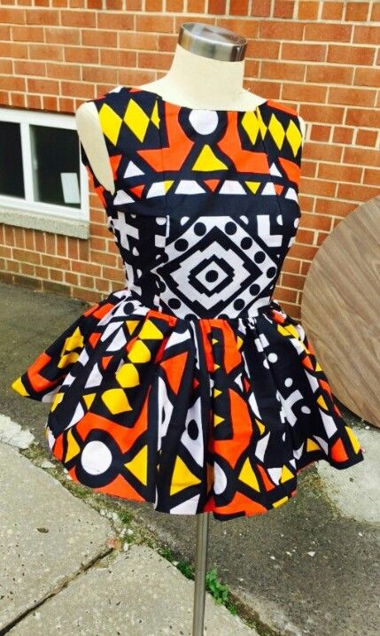 Ankara peplum top