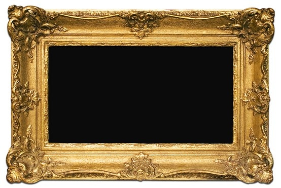 Gold Frame / Moldura Dourada.