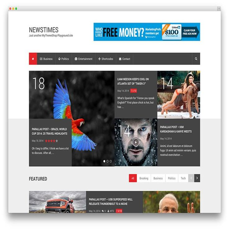 newstimes-clean-wordpress-magazine