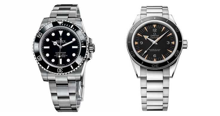 Clash of The Divers: Rolex Submariner Watch vs Omega Seamaster 300 Master Co-Axial Watch