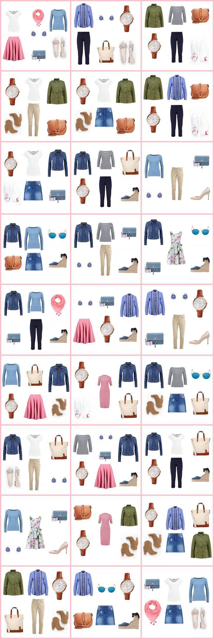 Szafa w pigułce (capsule wardrobe) wiosna 2017. Idziemy na zakupy!!! - Lawendowy DomLawendowy Dom