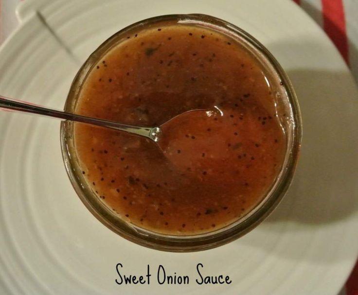 Rezept Sweet Onion Sauce nach Subway Art von Whosthatchick - Rezept der Kategorie Saucen/Dips/Brotaufstriche