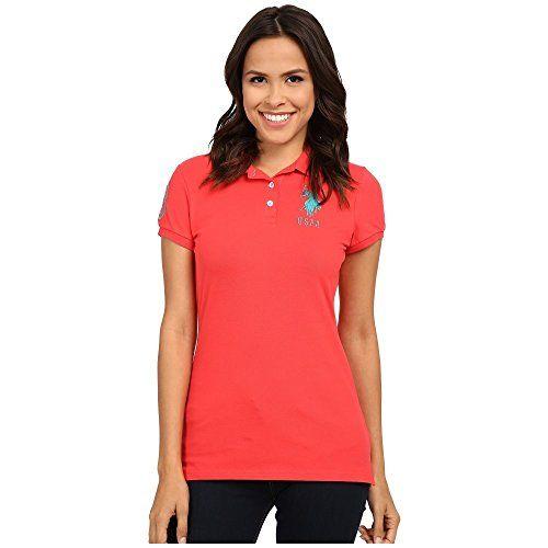 (ユーエスポロアッスン) U.S. POLO ASSN. レディース トップス ポロシャツ USPA Solid Polo 並行輸入品  新品【取り寄せ商品のため、お届けまでに2週間前後かかります。】 表示サイズ表はすべて【参考サイズ】です。ご不明点はお問合せ下さい。 カラー:Hibiscus 詳細は http://brand-tsuhan.com/product/%e3%83%a6%e3%83%bc%e3%82%a8%e3%82%b9%e3%83%9d%e3%83%ad%e3%82%a2%e3%83%83%e3%82%b9%e3%83%b3-u-s-polo-assn-%e3%83%ac%e3%83%87%e3%82%a3%e3%83%bc%e3%82%b9-%e3%83%88%e3%83%83%e3%83%97%e3%82%b9-4/