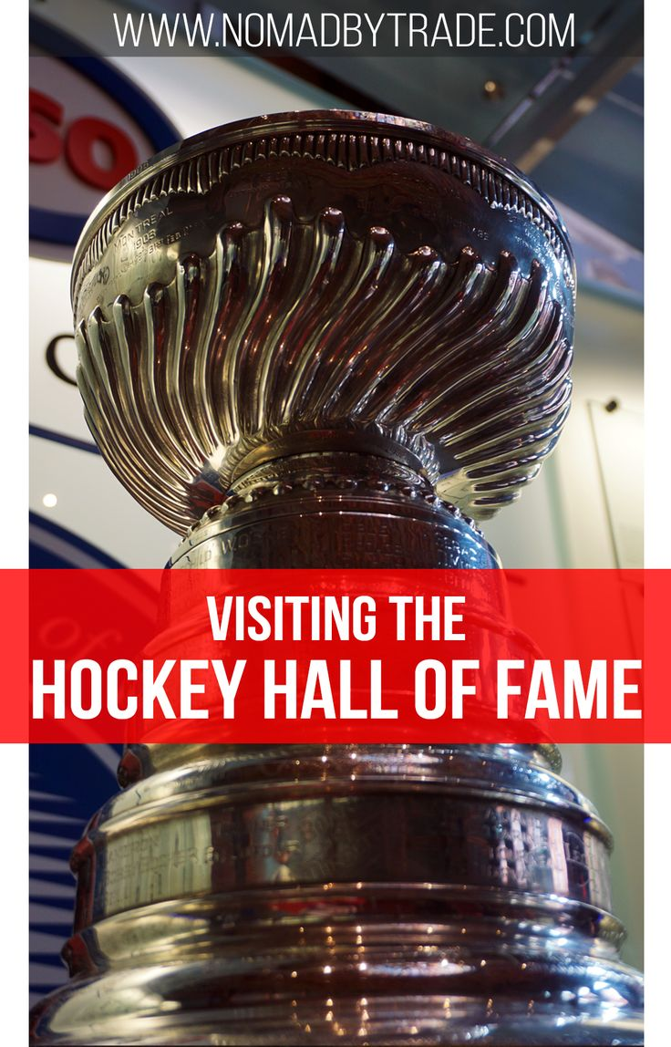 Tips for visiting the Hockey Hall of Fame in Toronto, Canada. #Toronto | #Canada | #NHL | #StanleyCup | #HHoF | #Hockey | #HockeyHallOfFame | #HallOfFame