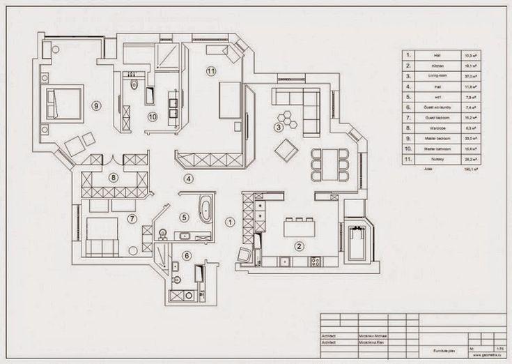 Apartamento Vanguardista / Geometrix Design, Moscú Http://www.arquitexs.com