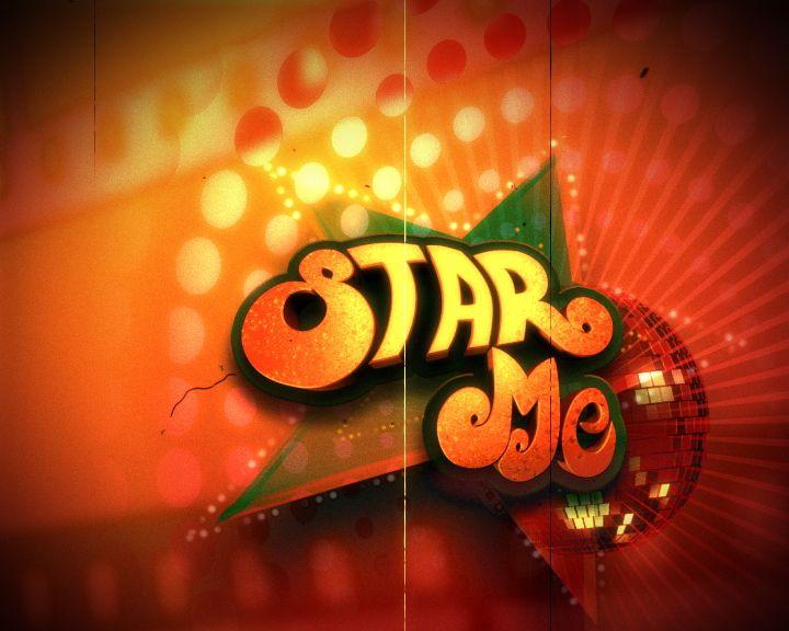 Star me logo design - Tv Show packaging