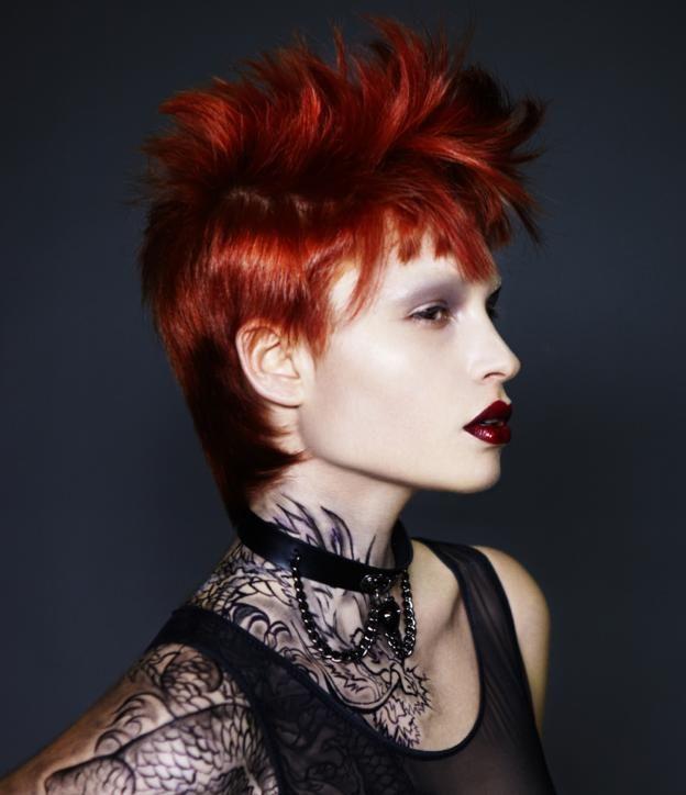 Roxanne Fernandes  Hair: Dee Parker MUFX: Liz Jenkinson