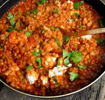 Barley, Tomato and Garlic Risotto by Yotam Ottolenghi