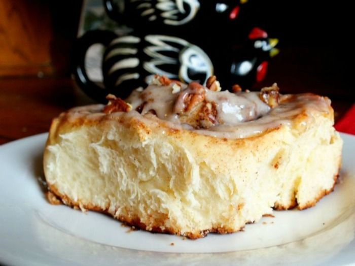 """Cinnamon rolls are absolutely one of those breakfasts that say, """"I love you."""" Texas cinnamon rolls, like all things here go way beyond that. They sort of spell out the Roget's thesaurus version of ..."""