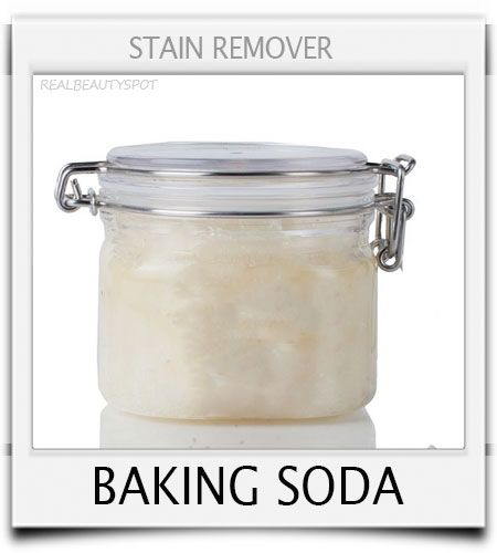 how to get stains out of clothes with baking soda