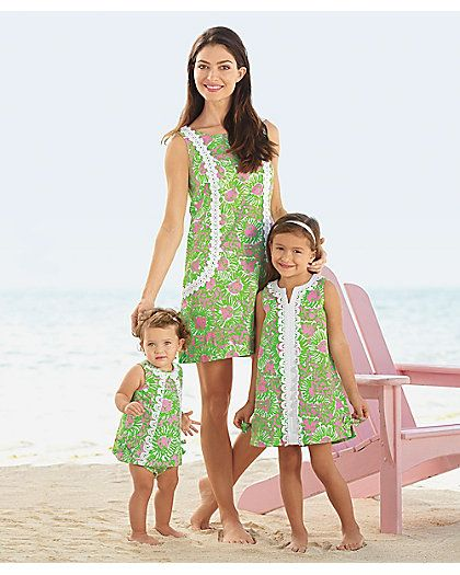 matching Mommy & Me Lilly Pulitzer sunnyside dresses ...
