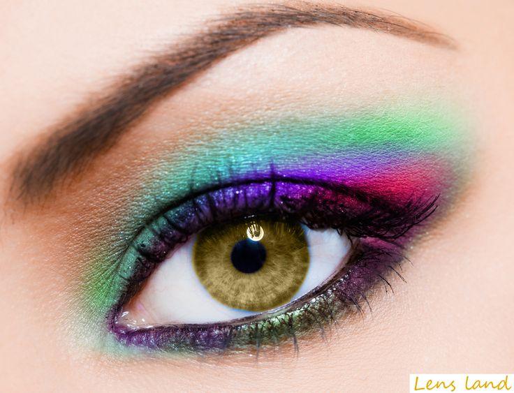 Coco brown eyes contact lenses! www.Trendylenses.co.uk