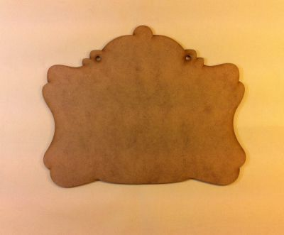 Kubbeli Pano no:2 Dekupaj Panosu 25.5x20.5 cm