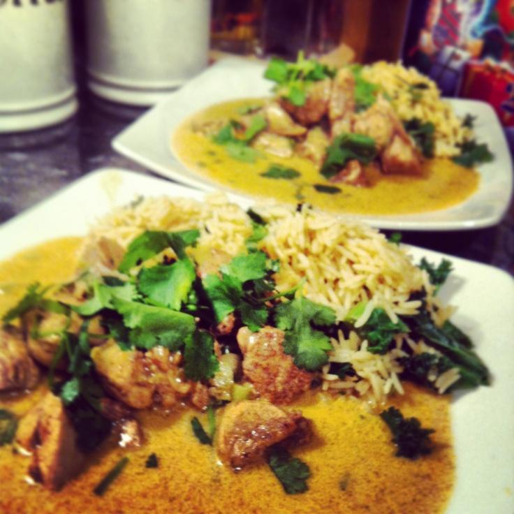 Sri Lankan chicken & coconut curry - Lorraine Pascale recipe