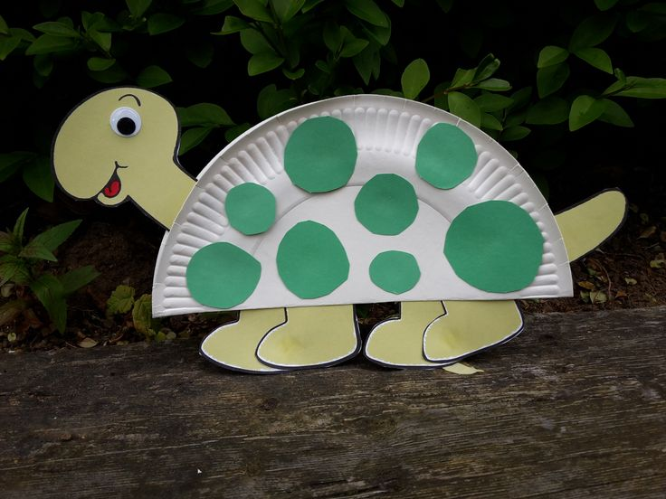 Basteln Mit Pappe Ideen Paper Plate Turtle | Paper Plates | Paper Plate Crafts For