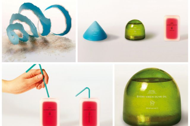 Sweden-based designers Hannah Billqvist and Anna Glansén of Tomorrow Machine launched a project in 2012 entitled This Too Shall Pass that features biodegradable food packaging.