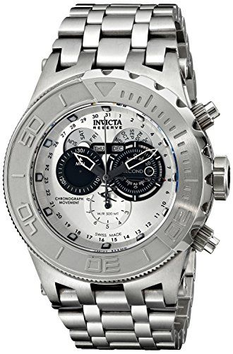 Invicta Mens 15962 Subaqua Analog Display Swiss Quartz Silver Watch -- To view further for this item, visit the image link. (This is an Amazon affiliate link)