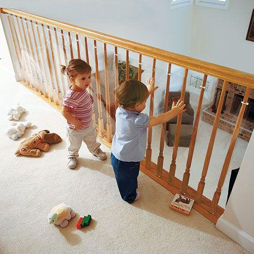 Clear Railing Barrier Perfect For Loft Railings Modern