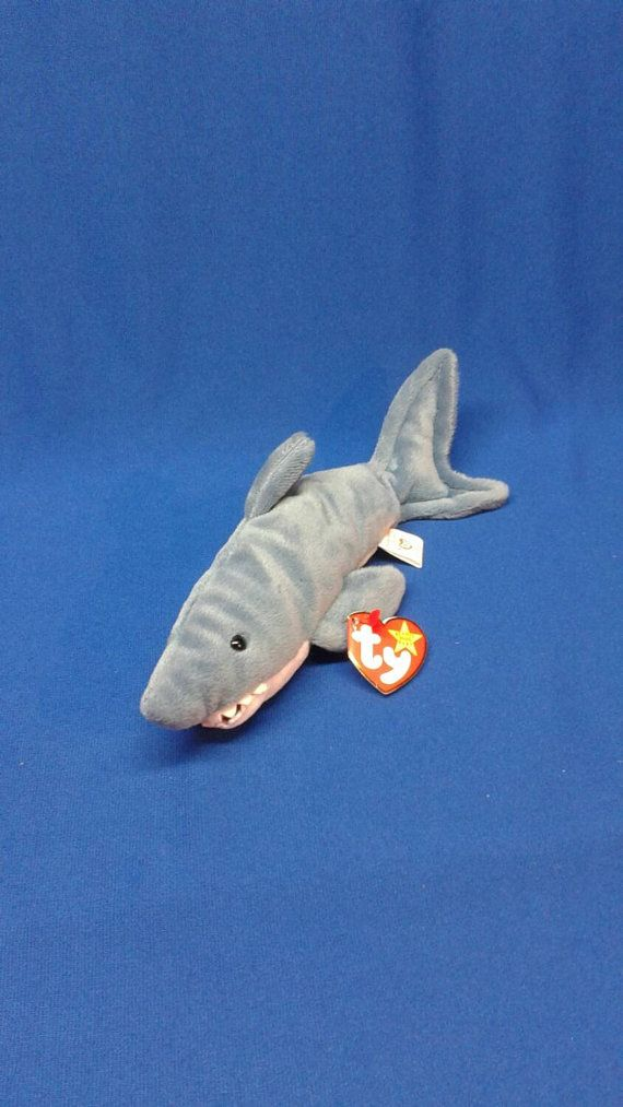 Check out this item in my Etsy shop https://www.etsy.com/listing/236862464/crunch-the-shark-ty-original-beanie-baby