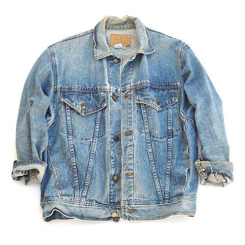 muses & rebels men's vintage denim jacket - clothing - #musesandrebels