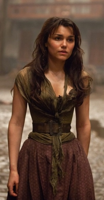 Éponine from Les Mis, played by Samantha Barks. Costume Designer: Paco Delgado