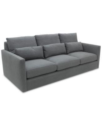 elmie 94 grand fabric sofa created for macy s deep sofa rh pinterest com