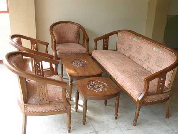 Kursi Tamu Jati Sofa Sederhana Desain Furnitur Set Sofa Ide Dekorasi Rumah