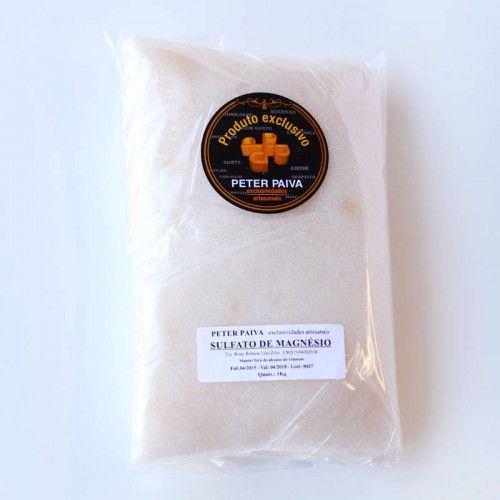 Sulfato de Magnésio  Epson 1kg