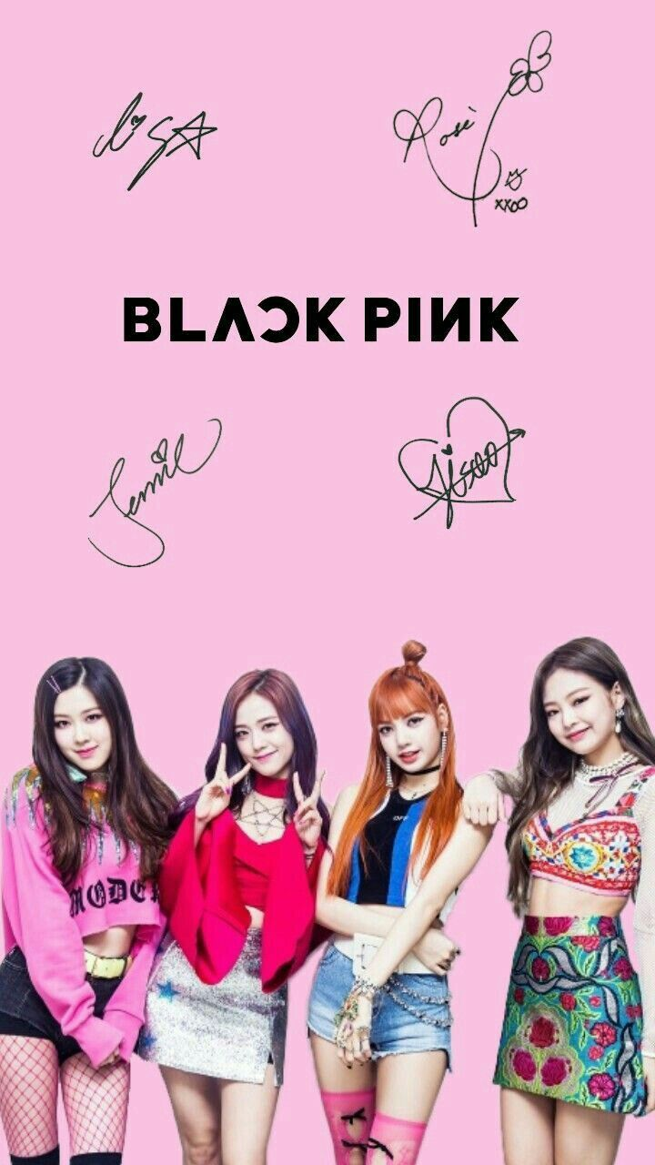 Blackpink Lockscreen Wallpaper Image By Chocochips Black Pink